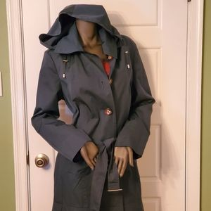 Michael Kors Trench with removable hood